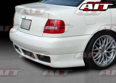AIT Racing - Audi A4 AIT RS4 Style Rear Bumper - A496HIRS4RB