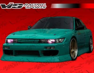 VIS Racing. - Nissan S13 VIS Racing B Speed Widebody Front Bumper - 89NSS132DBSPWB-001