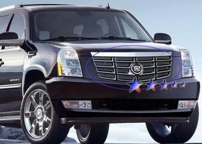APS - Cadillac Escalade APS Billet Grille - Upper - Aluminum - A66462A