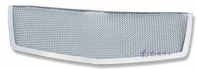 APS - Cadillac Escalade APS Wire Mesh Grille - Upper - Stainless Steel - A76462T