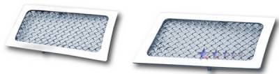 APS - Cadillac Escalade APS Wire Mesh Grille - Bumper - Stainless Steel - A76482T