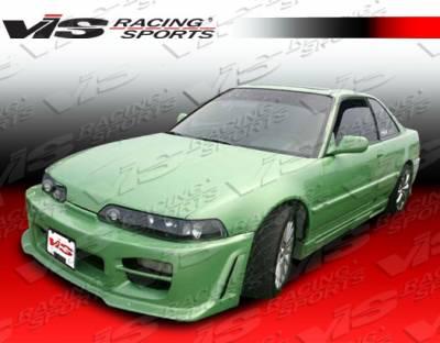 VIS Racing - Acura Integra VIS Racing Octane Front Bumper - 90ACINT2DOCT-001