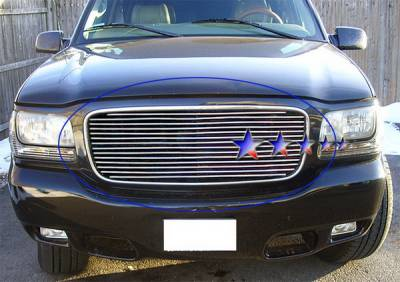 APS - Cadillac Escalade APS Billet Grille - Upper - Aluminum - A85367A