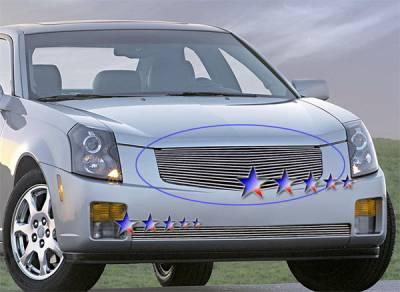 APS - Cadillac CTS APS Billet Grille - Upper - Aluminum - A85368A