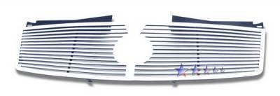 APS - Cadillac CTS APS CNC Grille - Upper - Aluminum - A95368A
