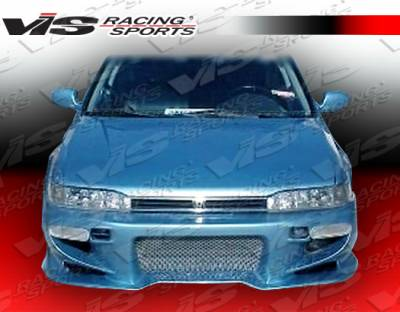 VIS Racing - Honda Accord 2DR & 4DR VIS Racing Invader-2 Front Bumper - 90HDACC2DINV2-001