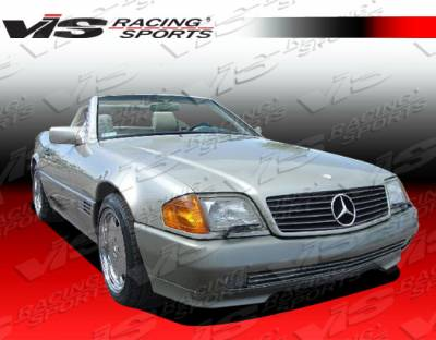 VIS Racing - Mercedes-Benz SL VIS Racing Euro Tech Front Bumper - 90MER1292DET-001