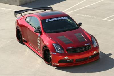 APR - Infiniti G35 APR Wide Body Aero Kit - AB-355000