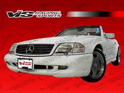VIS Racing - Mercedes-Benz SL VIS Racing Euro Tech-2 Front Bumper - 90MER1292DET2-001
