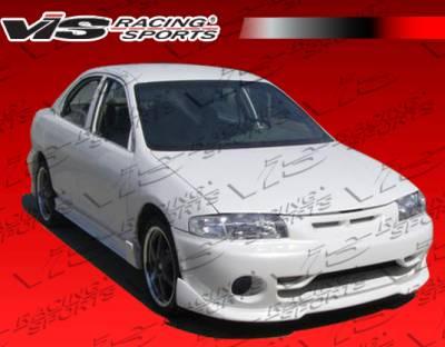 VIS Racing - Mazda Protege VIS Racing Techno R Front Bumper - 90MZ3234DTNR-001