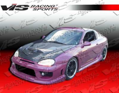 VIS Racing - Mazda MX3 VIS Racing Striker Front Bumper - 90MZMX32DSTR-001
