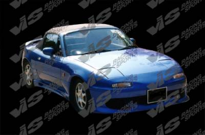 VIS Racing. - Mazda Miata VIS Racing Ballistix Front Bumper - 90MZMX52DBX-001
