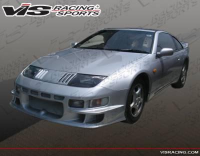 VIS Racing - Nissan 300Z VIS Racing Alfa Front Bumper - 90NS3002DALF-001