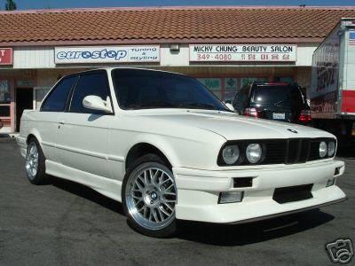 Custom - E30 EVO Style Front Bumper