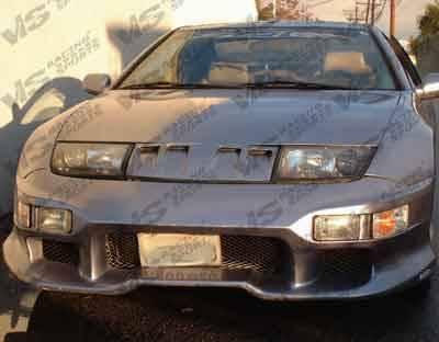 VIS Racing - Nissan 300Z VIS Racing Invader-1 Front Bumper - 90NS3002DINV1-001
