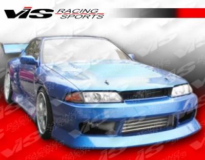 VIS Racing - Nissan Skyline VIS Racing B Speed Front Bumper - 90NSR32GTRBSP-001