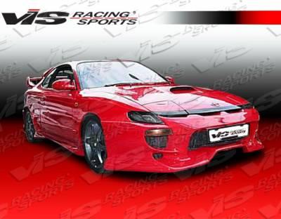 VIS Racing - Toyota Celica VIS Racing Invader Front Bumper - 90TYCEL2DINV-001