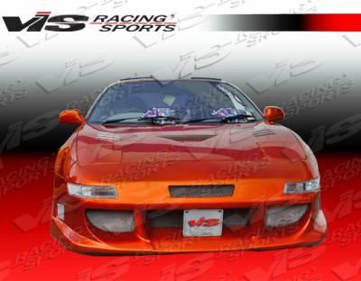 VIS Racing - Toyota MR2 VIS Racing Ballistix Front Bumper - 90TYMR22DBX-001
