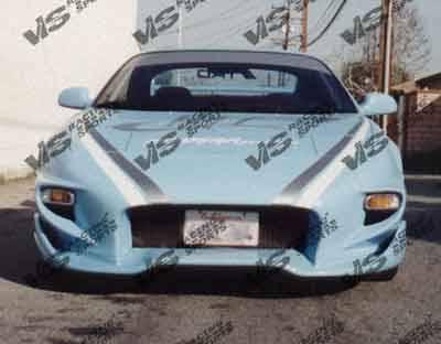 VIS Racing - Toyota MR2 VIS Racing Invader Front Bumper - 90TYMR22DINV-001