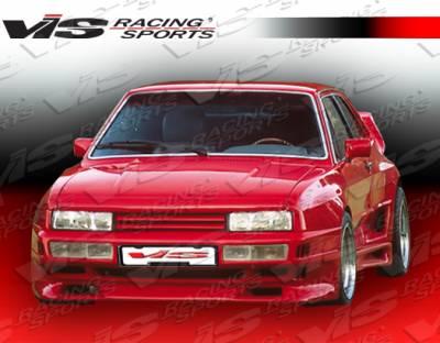 VIS Racing. - Volkswagen Corrado VIS Racing GT Widebody Front Bumper - 90VWCOR2DGTWB-001