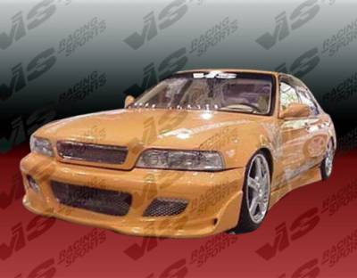 VIS Racing - Acura Legend 4DR VIS Racing Cyber Front Bumper - 91ACLEG4DCY-001