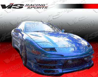 VIS Racing - Mitsubishi 3000GT VIS Racing Demon Front Bumper - 91MT3K2DDEM-001