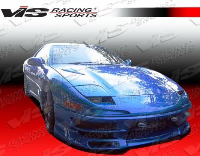 VIS Racing - Mitsubishi 3000GT VIS Racing Demon Front Bumper - 91MT3K2DDEM-001
