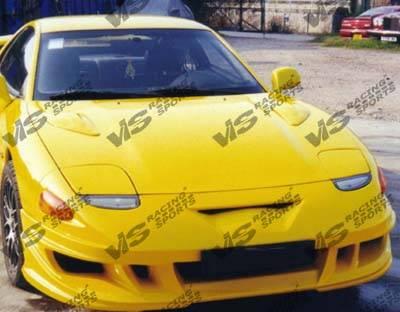 VIS Racing - Mitsubishi 3000GT VIS Racing Xtreme Front Bumper - 91MT3K2DEX-001