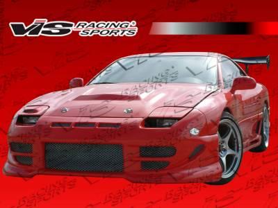 VIS Racing - Mitsubishi 3000GT VIS Racing Fuzion Front Bumper - 91MT3K2DFUZ-001