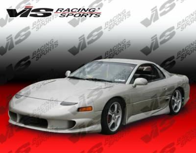 VIS Racing - Mitsubishi 3000GT VIS Racing Invader Front Bumper - 91MT3K2DINV-001
