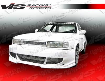 VIS Racing. - Nissan Sentra VIS Racing Fuzion Front Bumper - 91NSSEN2DFUZ-001