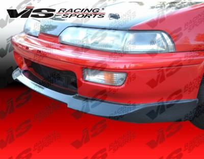 VIS Racing - Acura Integra VIS Racing Techno-R Carbon Fiber Lip - 92ACINT2DTNR-011C