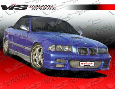 VIS Racing - BMW 3 Series VIS Racing Illusion Front Bumper - 92BME362DILL-001