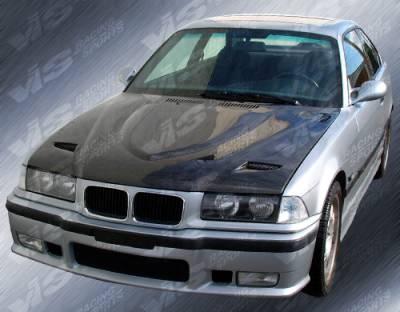 VIS Racing - BMW 3 Series VIS Racing M3 Front Bumper - 92BME362DM3-001