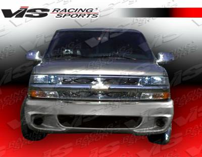VIS Racing - GMC Yukon VIS Racing Lighting Front Bumper - 92GMYUK4DLIG-001