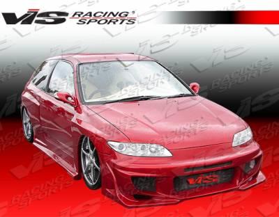 VIS Racing - Honda Civic 2DR & HB VIS Racing Ballistix-2 Front Bumper - 92HDCVC2DBX2-001