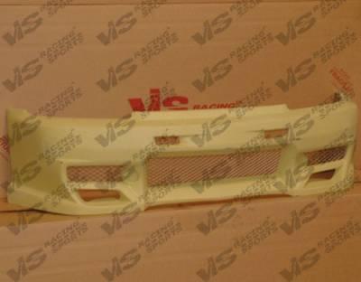 VIS Racing - Honda Civic 2DR & HB VIS Racing Demon Front Bumper - 92HDCVC2DDEM-001