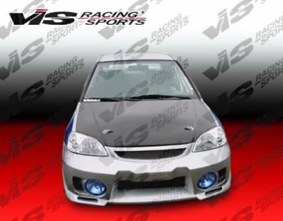 VIS Racing - Honda Civic 2DR & HB VIS Racing EVO-5 Front Bumper - 92HDCVC2DEVO5-001