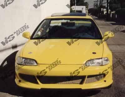 VIS Racing - Honda Civic 2DR VIS Racing Fuzion Front Bumper - 92HDCVC2DFUZ-001