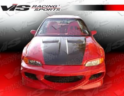 VIS Racing - Honda Civic 2DR & HB VIS Racing GT Bomber Front Bumper - 92HDCVC2DGB-001
