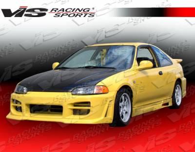 VIS Racing - Honda Civic 2DR & HB VIS Racing Octane Front Bumper - 92HDCVC2DOCT-001