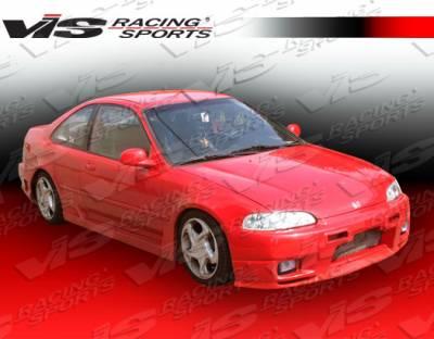 VIS Racing - Honda Civic 2DR & HB VIS Racing Omega Front Bumper - 92HDCVC2DOMA-001