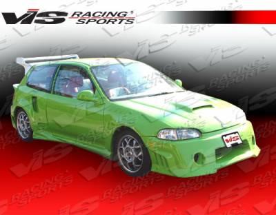 VIS Racing - Honda Civic 2DR & HB VIS Racing Quest Front Bumper - 92HDCVC2DQST-001