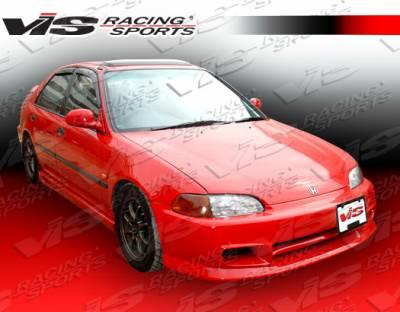 VIS Racing - Honda Civic 2DR & HB VIS Racing Sniper Front Bumper - 92HDCVC2DSNI-001