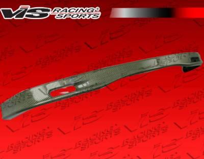 VIS Racing - Honda Civic 2DR & Hatchback VIS Racing Type-S Carbon Kevlar Front Lip - 92HDCVC2DSPN-011K