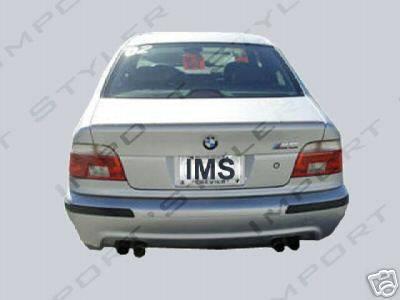 Custom - OEM Type M5 Rear Bumper