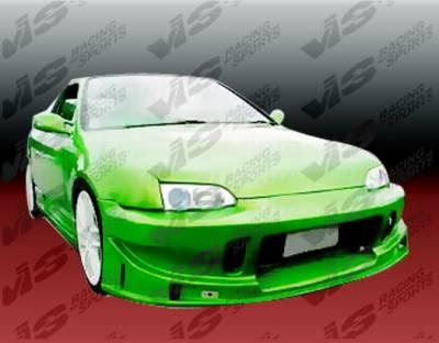 VIS Racing - Honda Civic 2DR & HB VIS Racing TSC Front Bumper - 92HDCVC2DTSC-001
