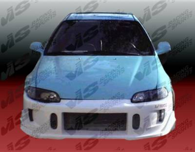 VIS Racing - Honda Civic 2DR & HB VIS Racing TSC-2 Front Bumper - 92HDCVC2DTSC2-001
