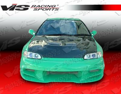 VIS Racing - Honda Civic 2DR & HB VIS Racing Wave Front Bumper - 92HDCVC2DWAV-001