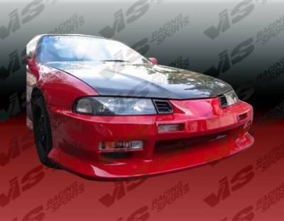 VIS Racing - Honda Prelude VIS Racing B Sport Front Bumper - 92HDPRE2DBS-001